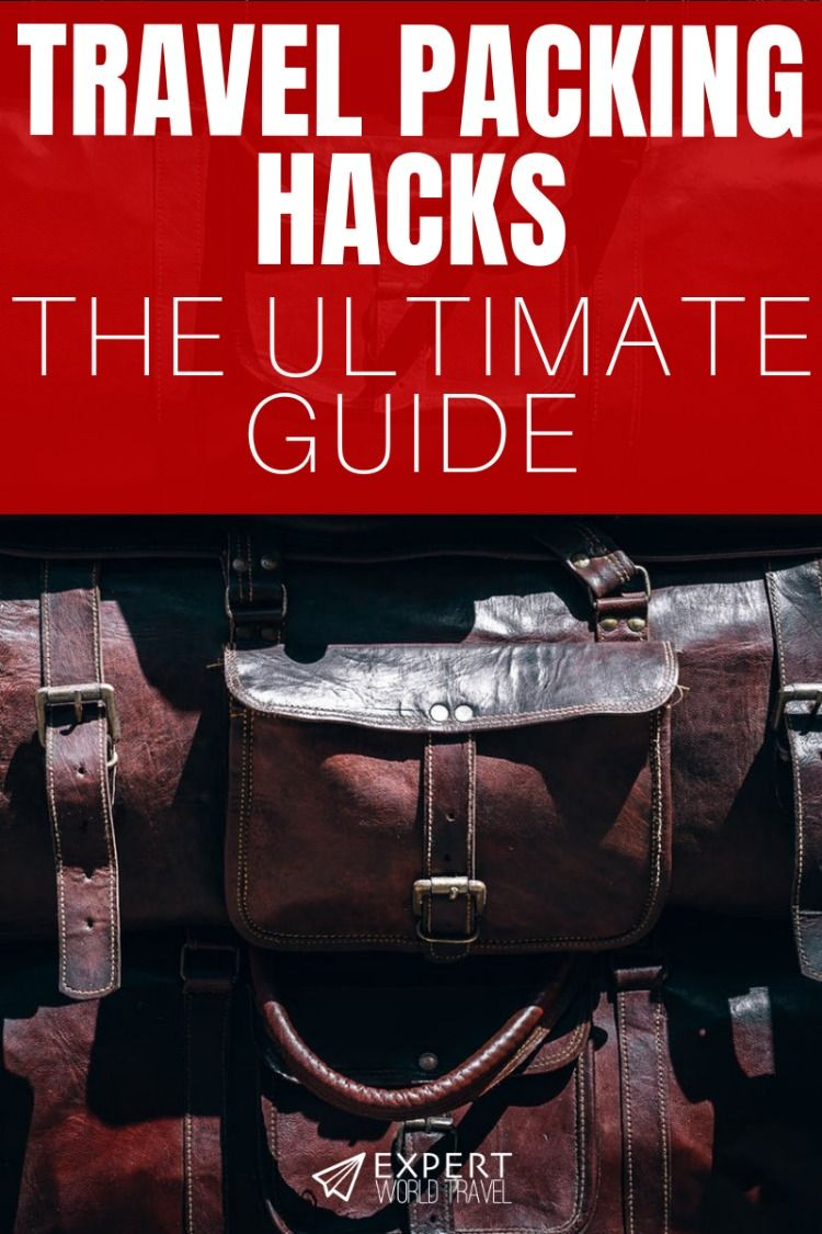 Get the most out of your next trip by packing like a ninja ...