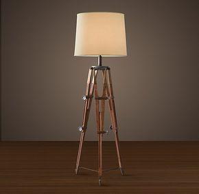 Surveyor S Tripod Floor Lamp Surveys Floor Lamp Flooring Lighting