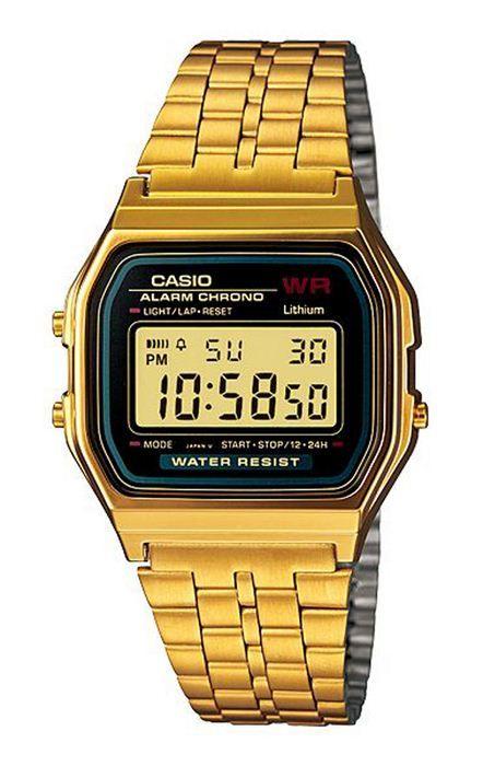 25c8e3cc650 Reloj casio digital hombre a159wgea-1ef