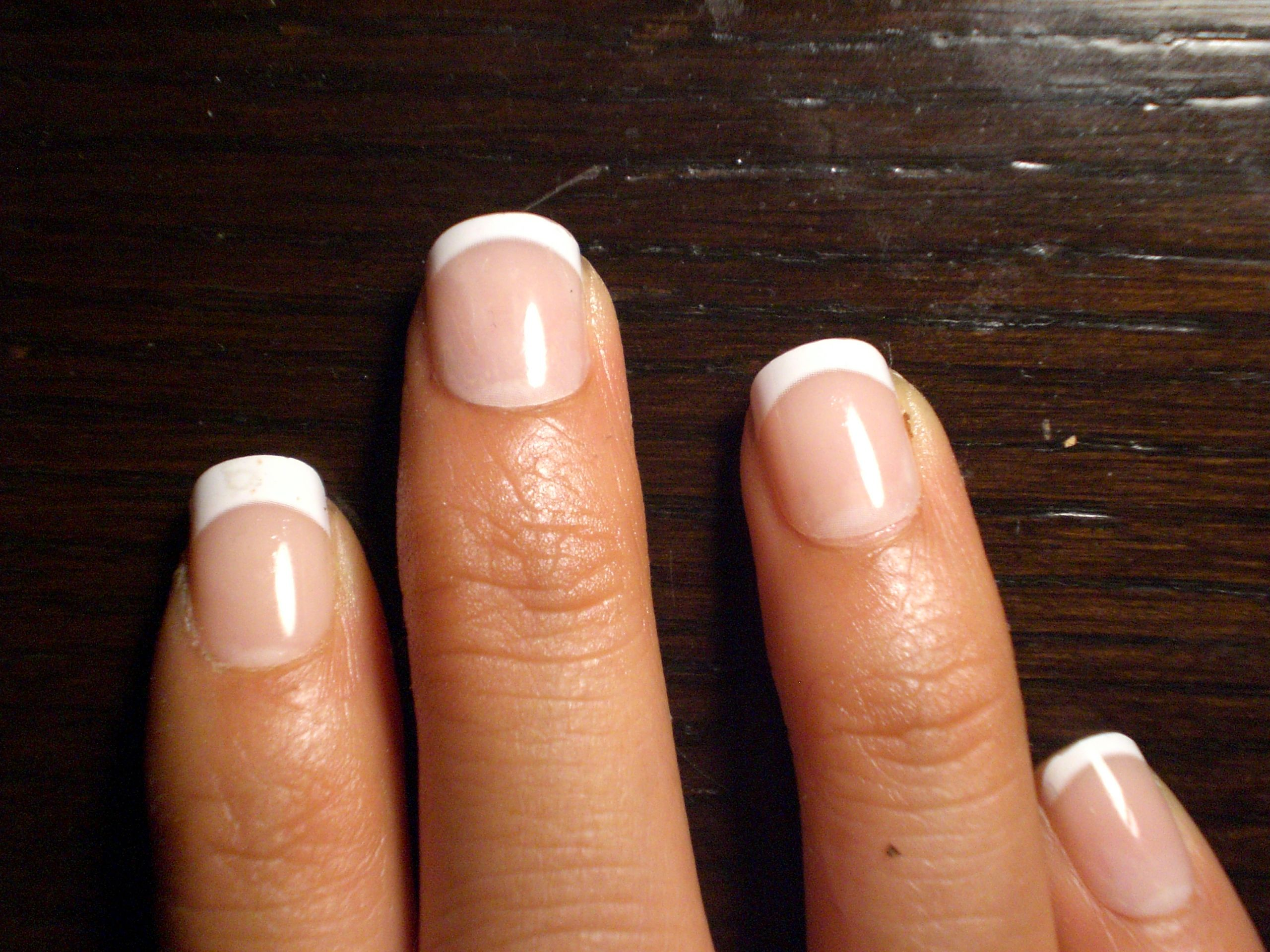 very short acrylic nails | ... but they do ruin your real nails just ...