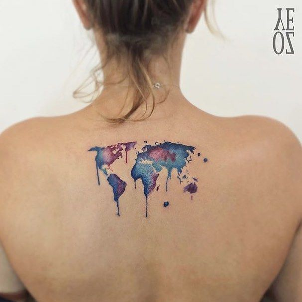 Pin by maria havlik on piercings and tattoos pinterest instagram post by inspirational tattoos ideas may 25 2016 at 1008am utc world map gumiabroncs Choice Image