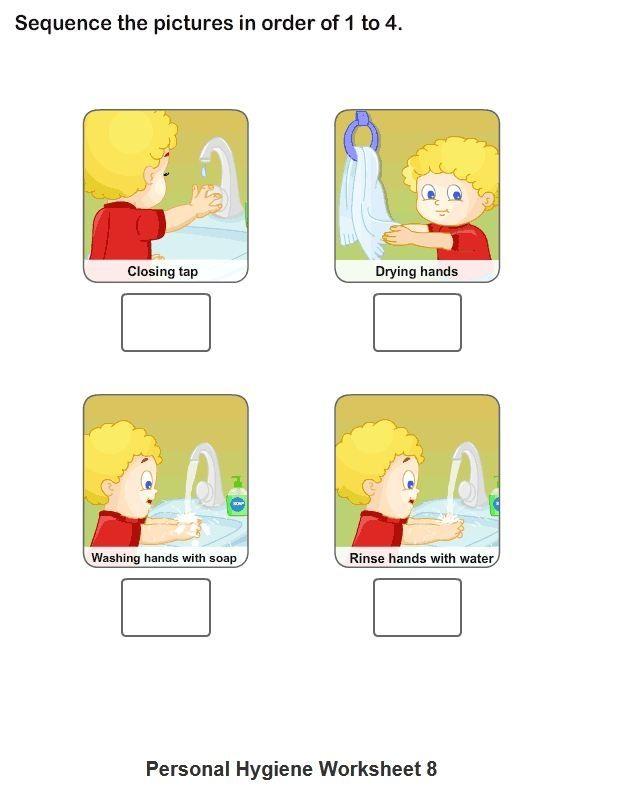 Personal Hygiene Worksheets For Kids Collection 1 8 – Health Worksheets for Kindergarten