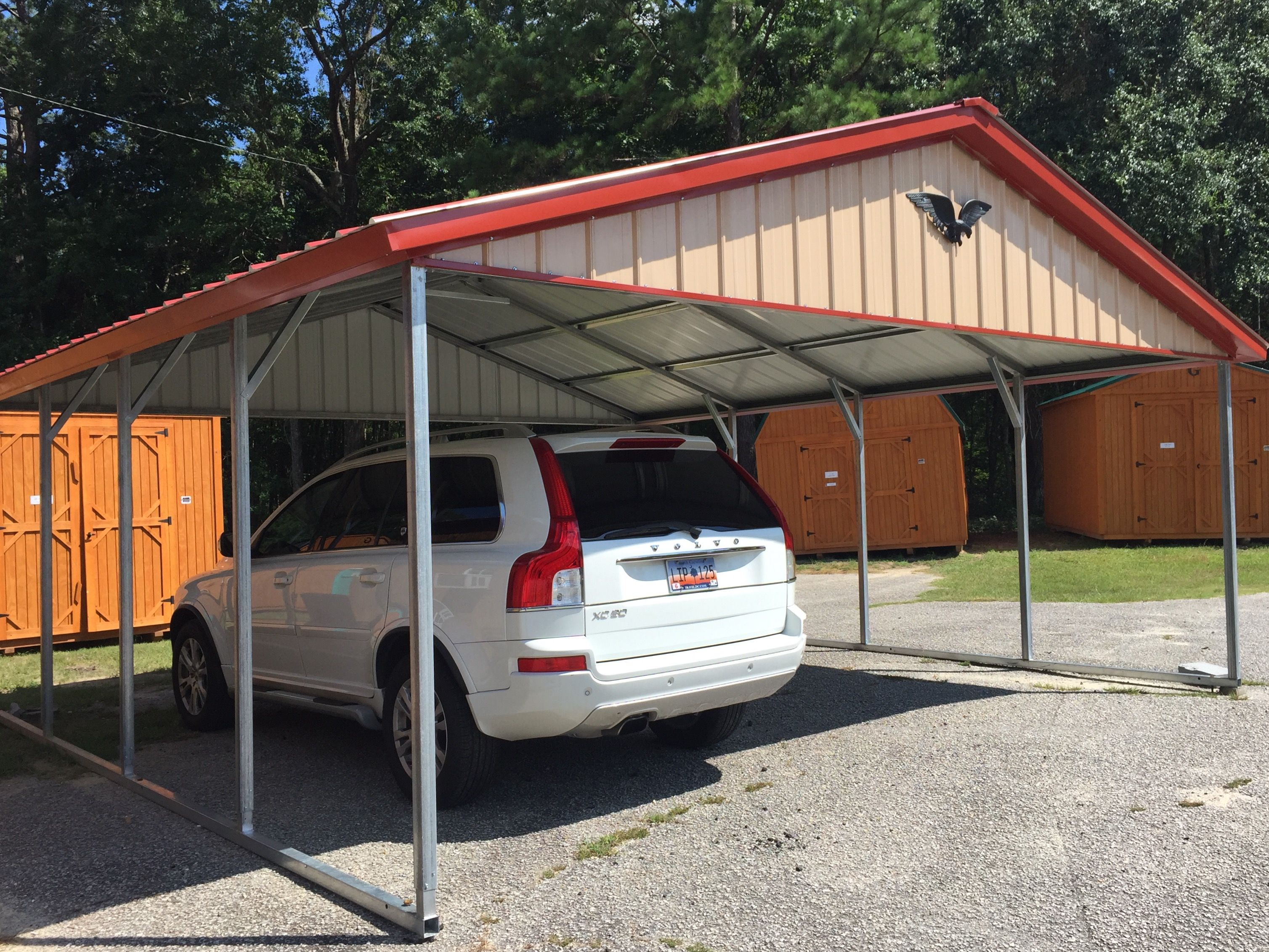 20x21 vertical carport eagle carports currently inventory