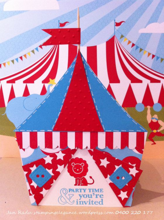 Circus Tent Invite Party Ideas In 2019 Circus Party