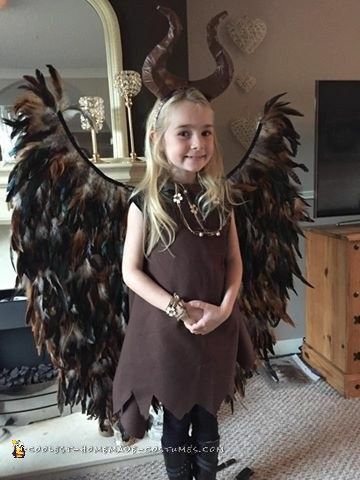 Cool And Easy Maleficent Homemade Costume In 2019 Cool