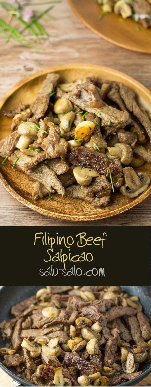 Beef Salpicao Salu Salo Recipes Recipe Food Salpicao Recipe Philapino Recipes