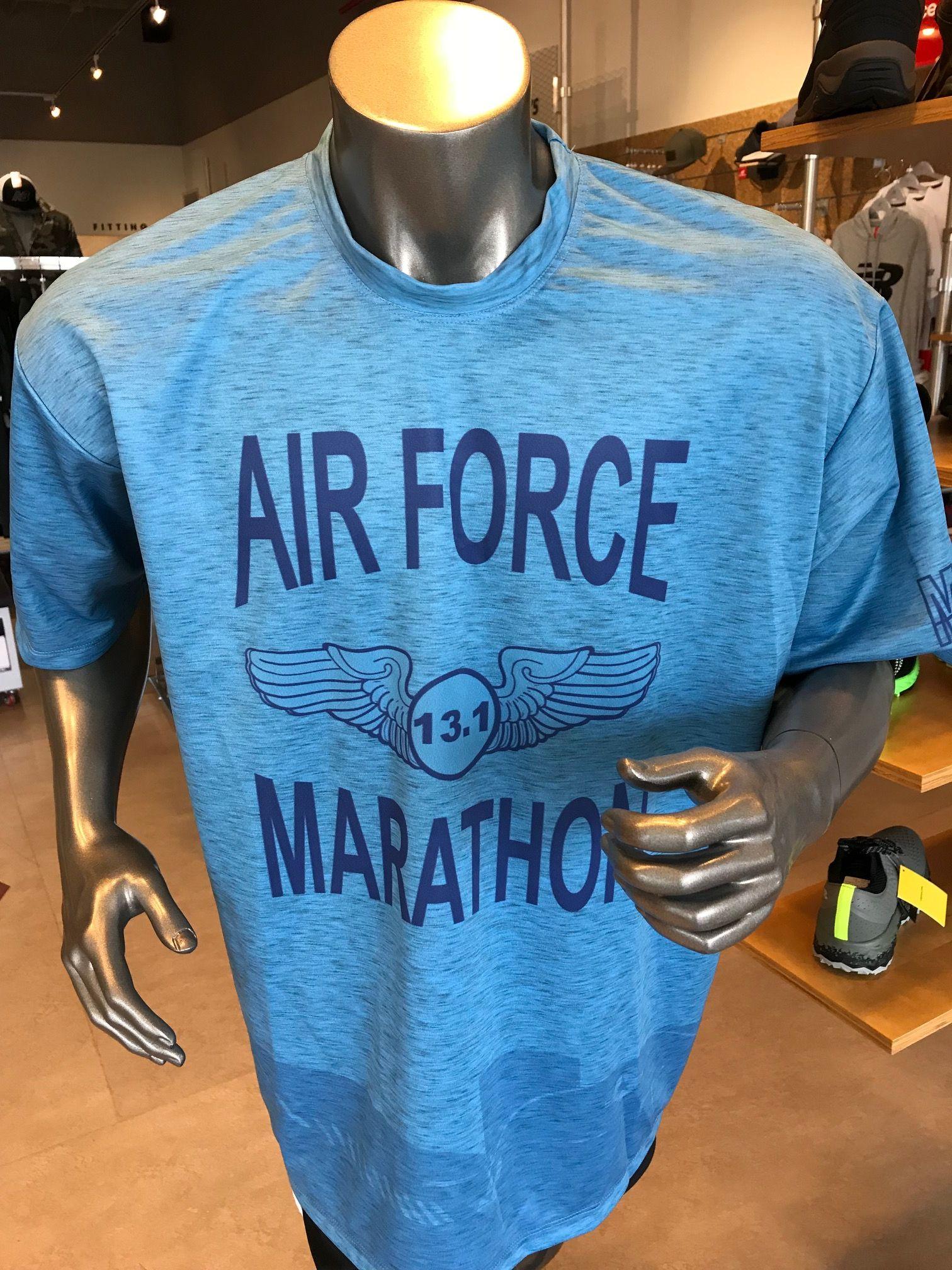 2018 Air Force Marathon Half Marathon Shirt Half