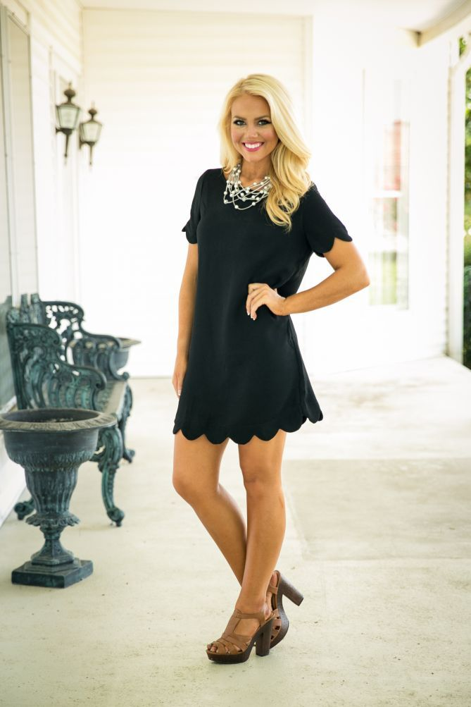 Pink Coconut Boutique | Undeniably You Dress - Black