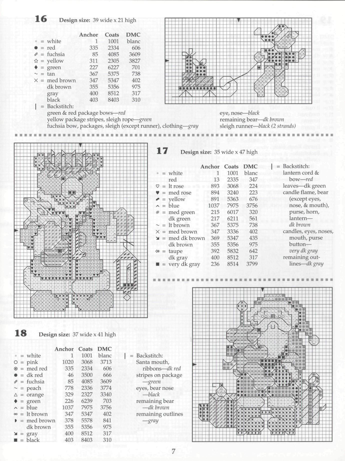 Fifty Christmas Bears