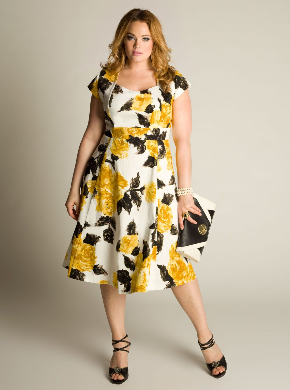 1950s Plus Size Dresses, Clothing | Plus size summer dresses ...