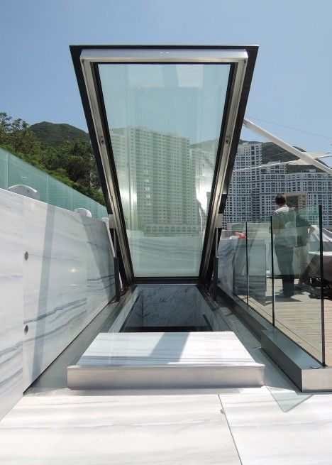 Glass Stair And Skylight By Carpenter Lowings Interior Hong Kong China Glass Staircase Glass Stairs Skylight