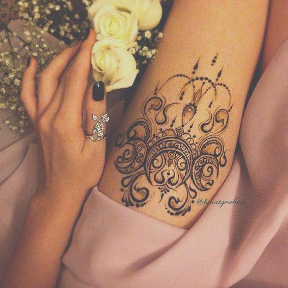 pin von chantal thomsen auf tattoos pinterest henna. Black Bedroom Furniture Sets. Home Design Ideas