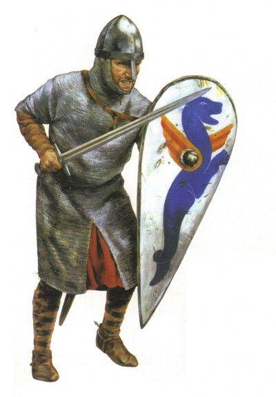 Nornan Knight 1066 Norman Knight Warrior Medieval Knight