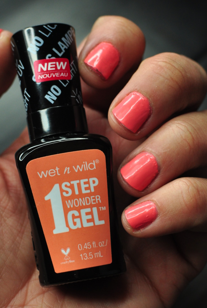 Have You Seen It? The New Wet n Wild 1 Step Wonder Gel Nail Color ...