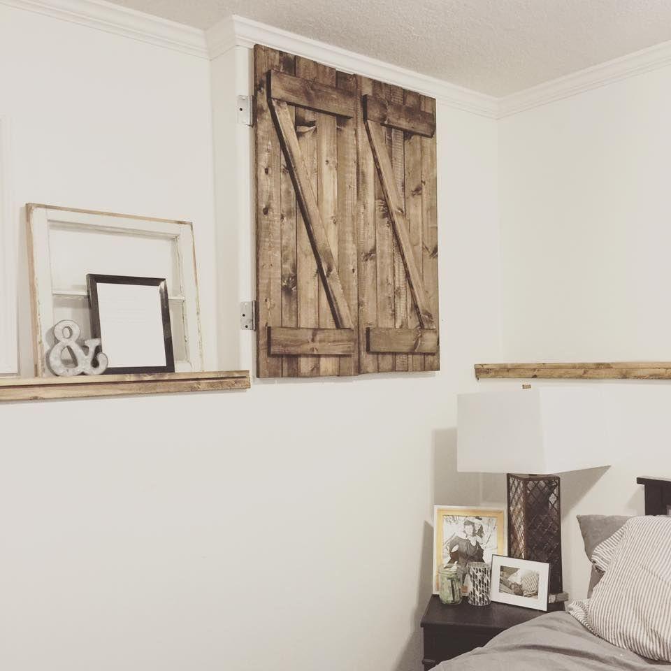 Rustic Home Decor | DIY | Barn Door | Rustic | Shabby Chic ...