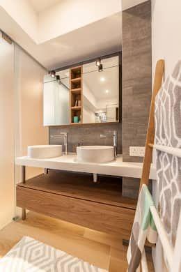 14 款有雙洗手台的絕美現代風浴室 Best Bathroom Designs Minimalist
