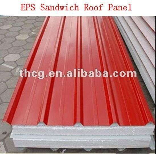 Corrugated Metal Roofing Sheets Sandwich Panel Sips Panels Insulated Concrete Forms Roof Insulation
