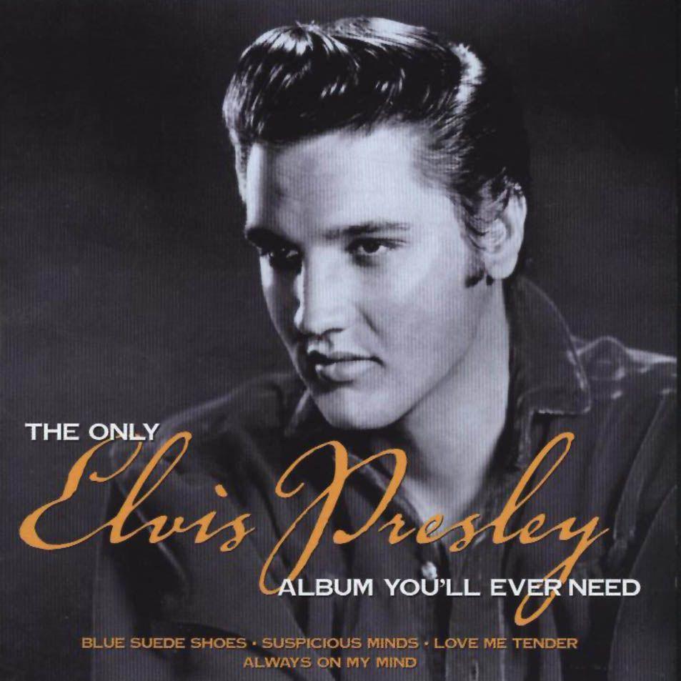 Caratula Frontal De Elvis Presley The Only Elvis Presley