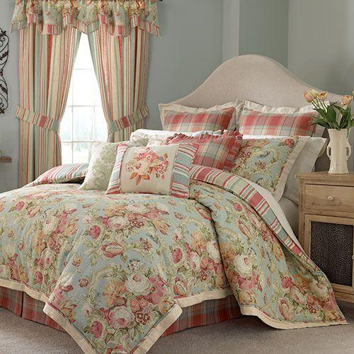 Waverly Spring Bling Comforter Set King   Bedding ...