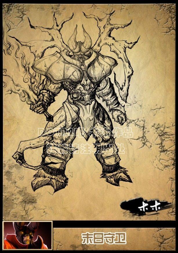 Dota 2 Fant Art Dibujos De Heroes De Dota 2 Actualizado 2020