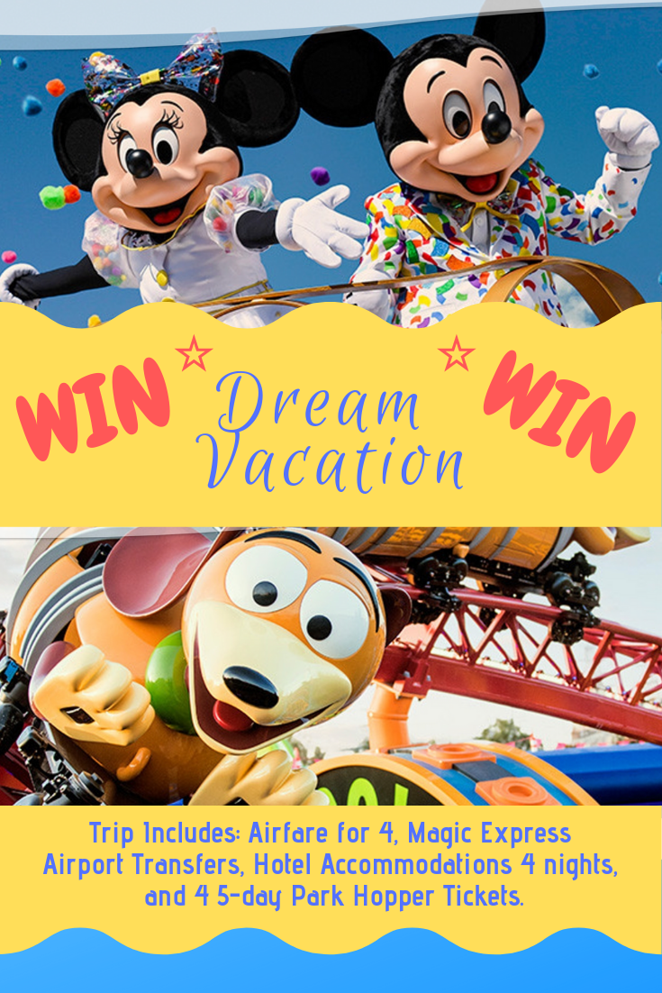 Win Dream Vacation - Ends 04/01/2019 | Current Disney Sweepstakes
