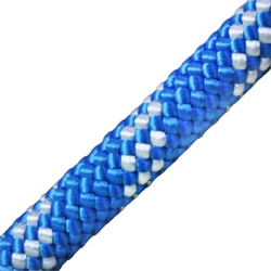 Kernmantle Rope 1 2 Inch Blue W White Stripe Inch Blue Static Rope White Stripe