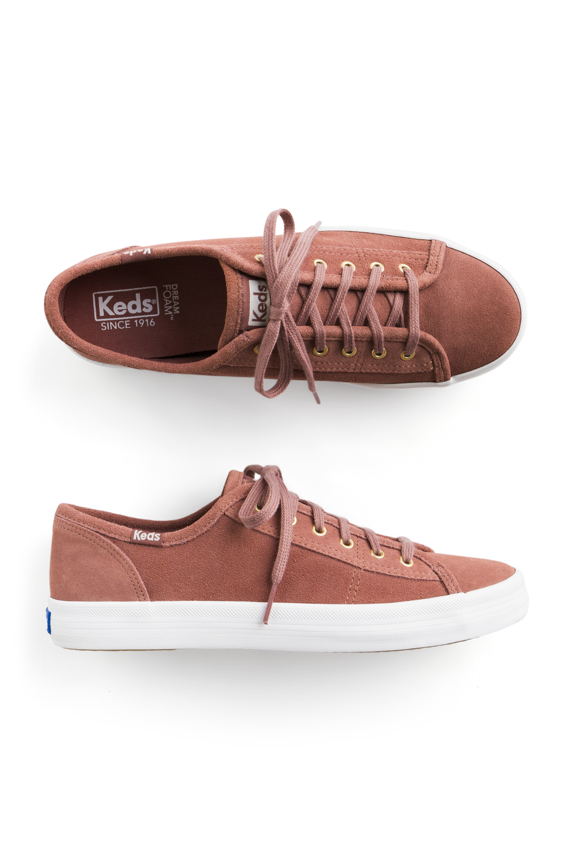 KEDS Kickstart Suede Lace Up Sneaker