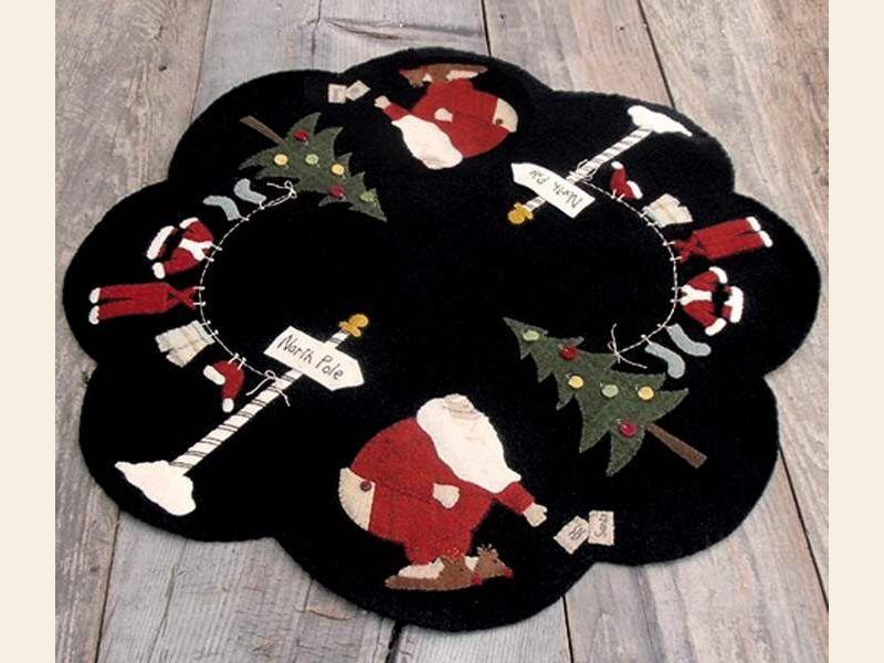 Wool appliqué :: jolly olde soul wool appliqué pattern the merry