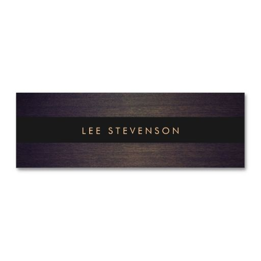 Pin On Plain Minimalist Business Card Templates