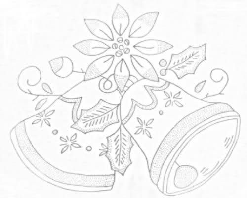Dibujo para servilletas para bordar imagui dibujos - Dibujos navidenos para bordar ...
