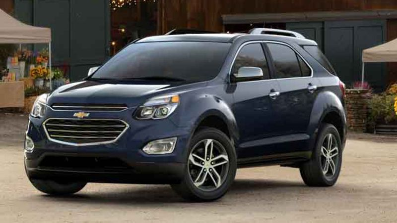2018 Chevrolet Equinox News Spy Shot Chevrolet Equinox