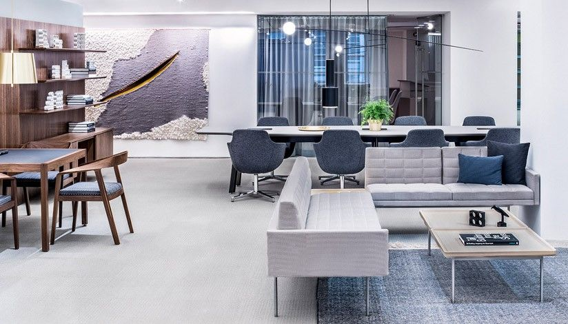 Geiger Showroom Neocon 2015 Furniture Dining Table Table