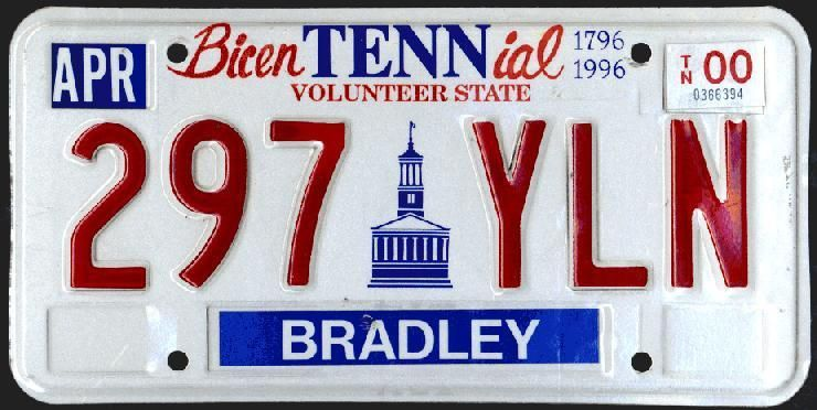 Tennessee The Volunteer State Tennessee Shelby County Volunteer