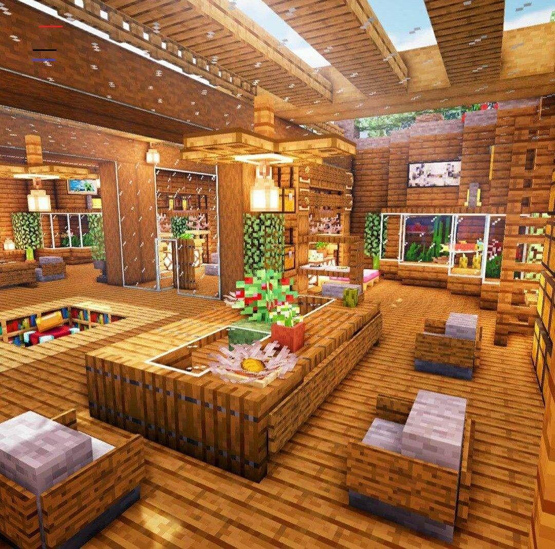 #minecraftbuildingideas in 2020 | Minecraft interior ...