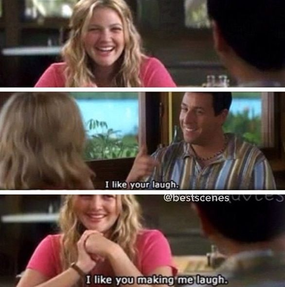 Your Laugh 50 First Dates Movie Quotes Funny Funny Dating Quotes