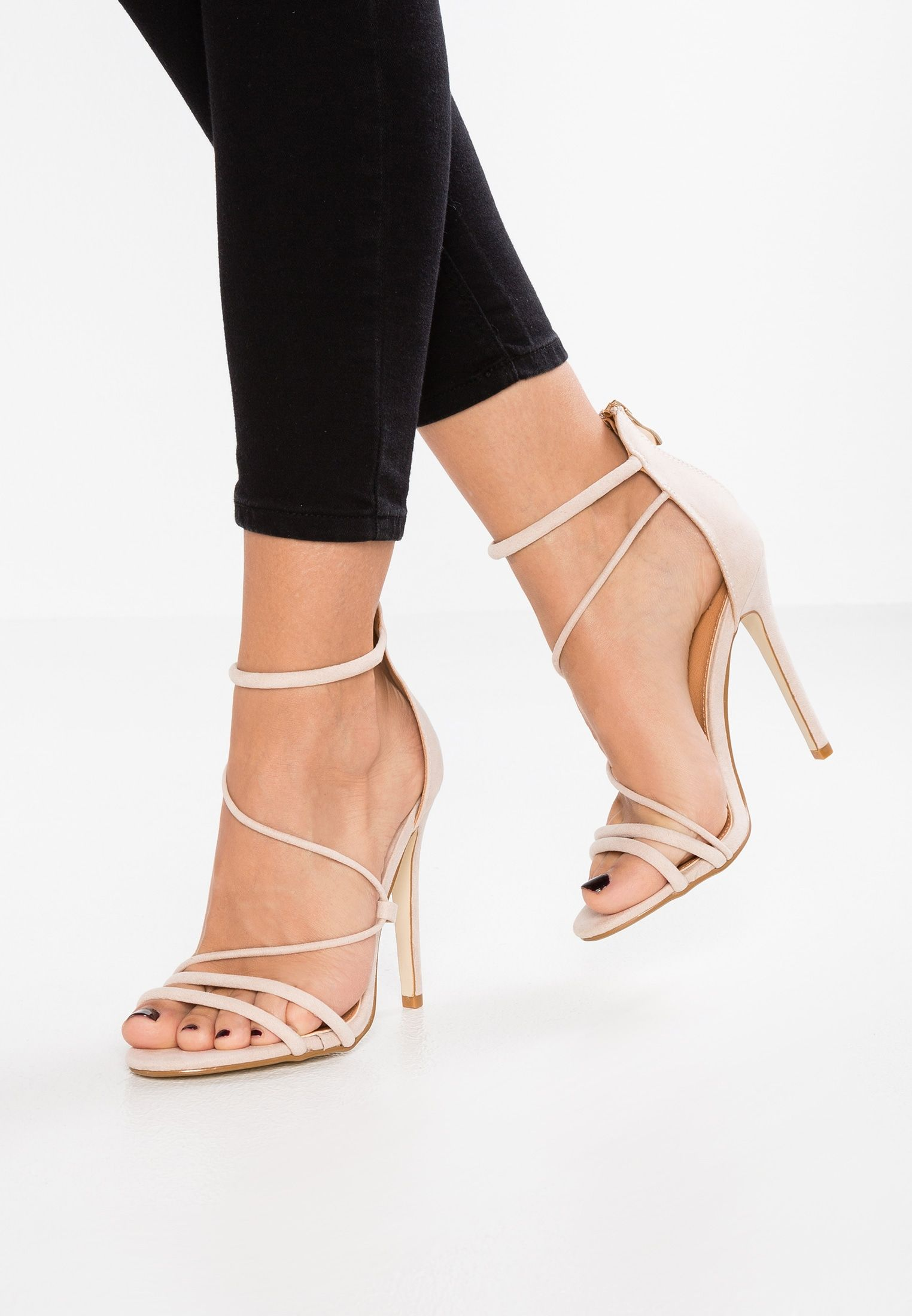 BEBO MILA - High heeled sandals - nude D5hXv