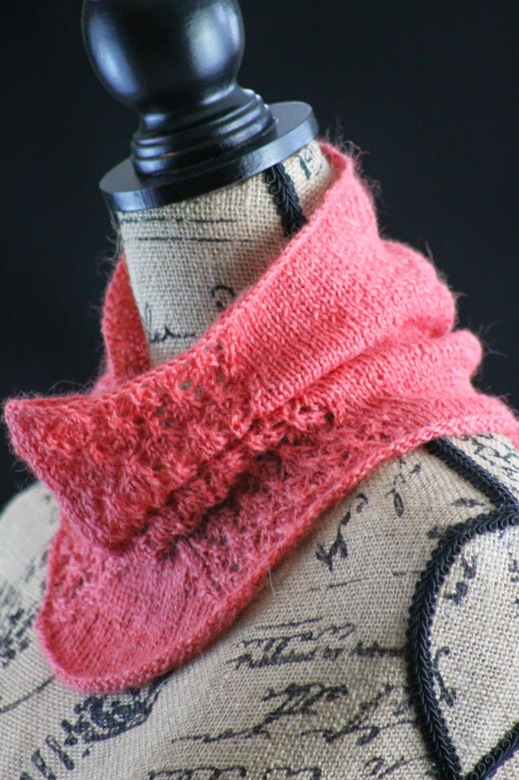 Pretty in Pink Cowl Balls to the Walls Knits | Knitting - neckwear ...