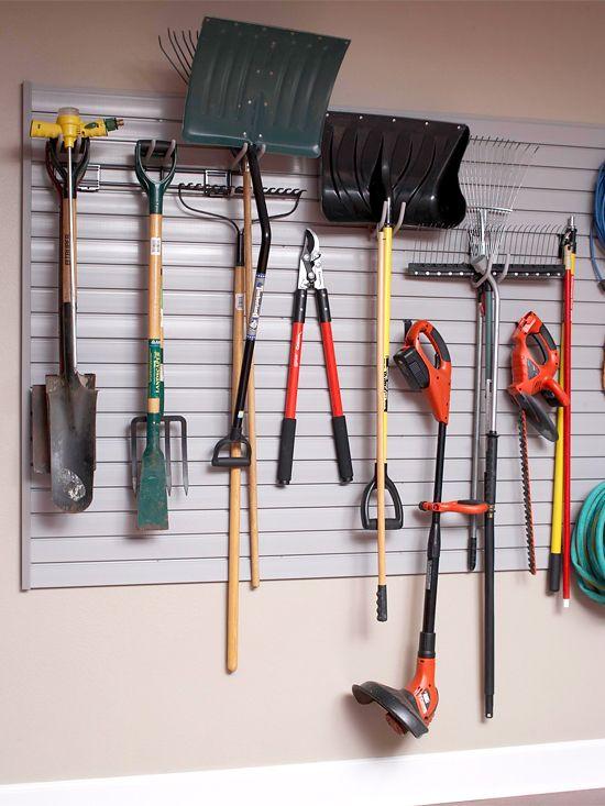 Ideas For Garage Organization Storage Garage Wall Organizer Garage Organization Tips Garage Storage Organization