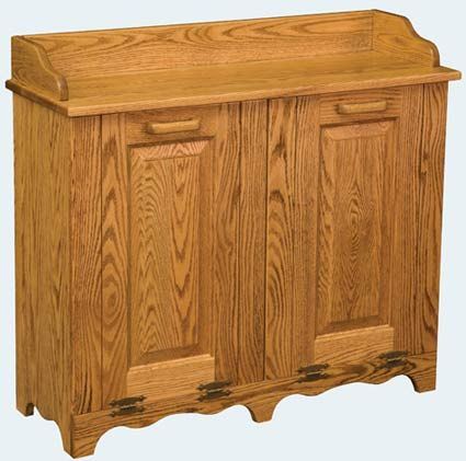 You Ll Save On Every Piece Of Furniture At Amish Outlet We Custom Make Item And Can Get The Double Tilt Out Trash Bin In Oak With Any Wood