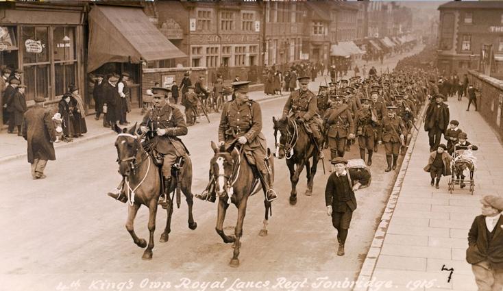 Tonbridge, England, 1915