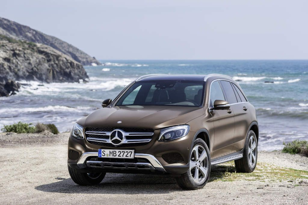 Mercedes Benz Glc 250 D 4matic Citrine Brown Magno Offroad Line