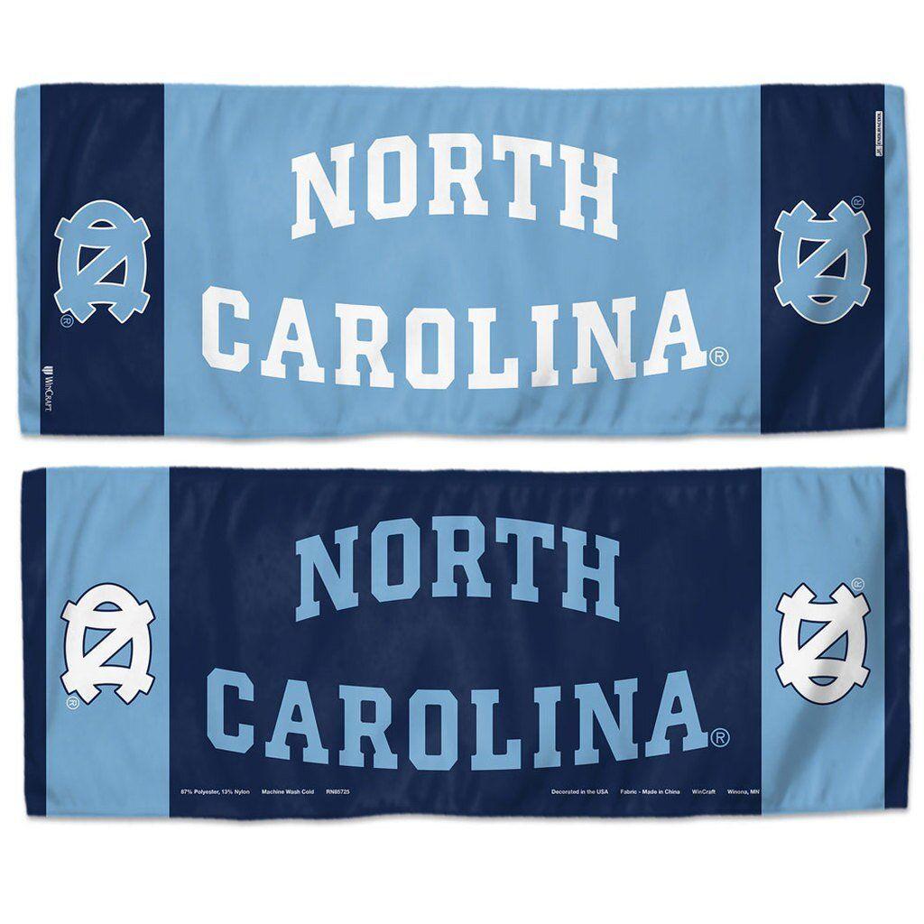 NCAA North Carolina UNC Tar Heels Auto Gift Set 1 Plastic License Plate Frame and 1 Thin Plastic License Plate WinCraft