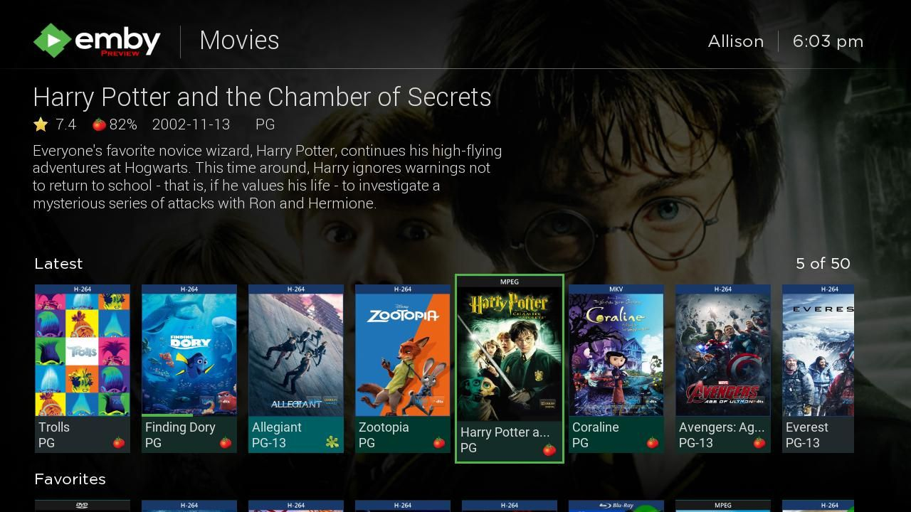 emby for android tv beta
