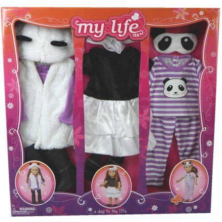 My Life As A Day In The Life Doll Clothing Set Panda My Life
