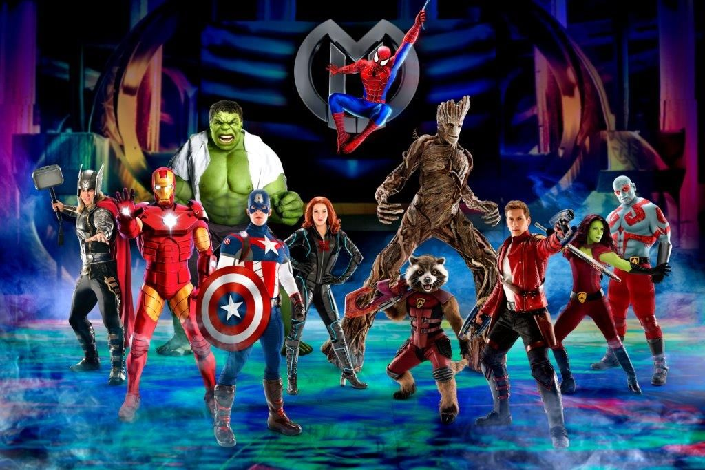 Marvel Universe LIVE! Age of Heroes in Los Angeles