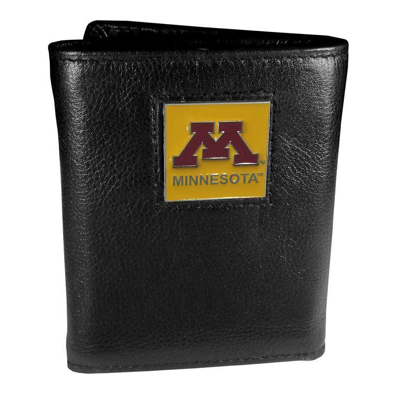 Minnesota Golden Gophers Trifold Wallet, Men's, Black