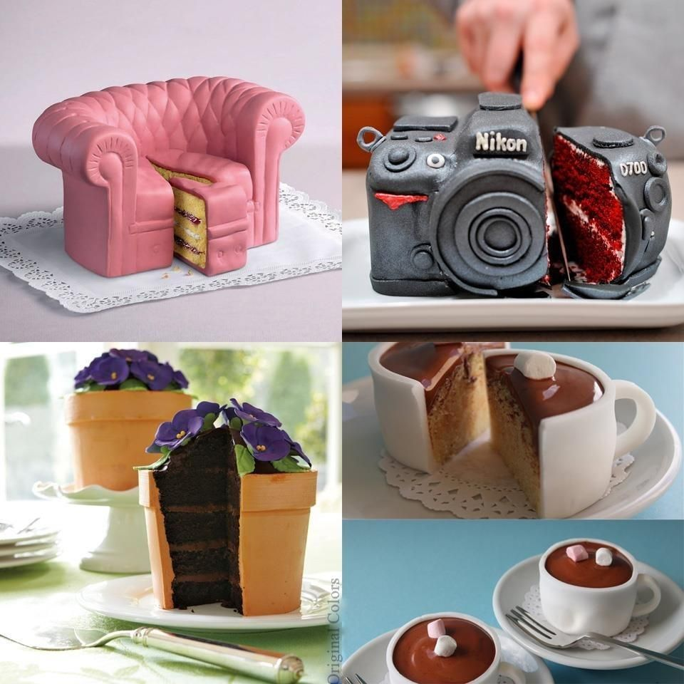 Cool Cakes that look like everyday objects!