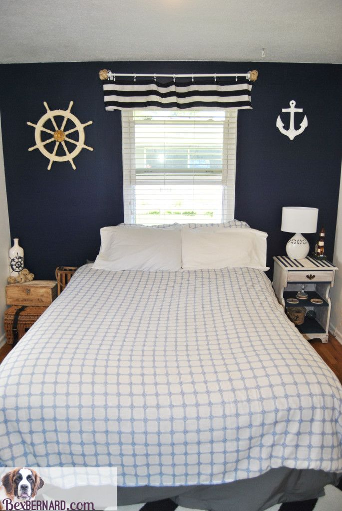 Nautical Bedroom Home Decor | Bedroom themes, Bedroom decor ...
