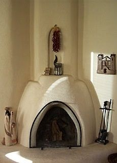 The Kiva Fireplace Steppin Up Out Southwest Style
