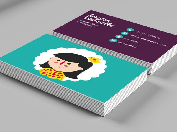 personal business card designs